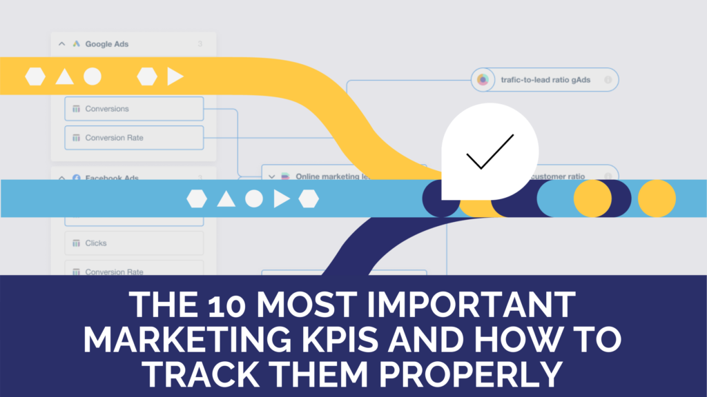 What are the 10 most important marketing KPIs and how to track them properly?